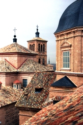 Interesting rooftops taken from church belltower