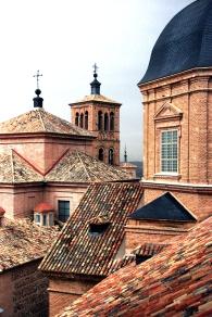 Interesting rooftops taken from church belltower