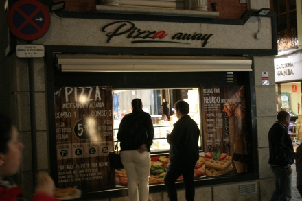 Pizza by the slice!